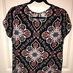 Old Navy fun print top